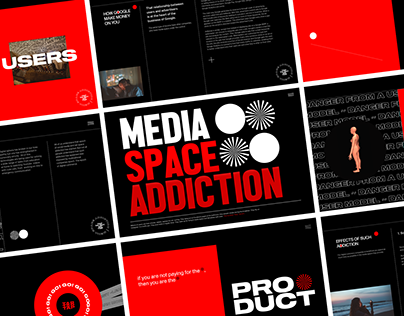 Design Concept: Danger of Media Space Addiction