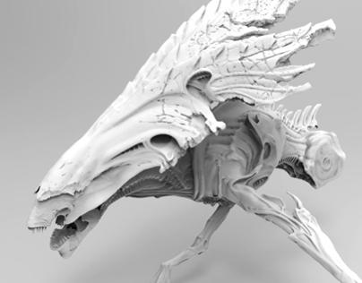 3D Scanning - AvP: Alien Vs Predator