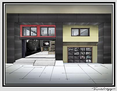 Storefront Design and Render