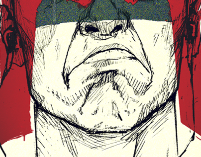 Dredd // Self-portrait
