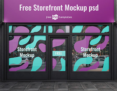 FREE Storefront MOCKUP