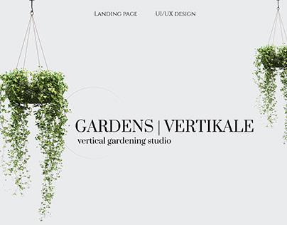 Vertical landscaping studio