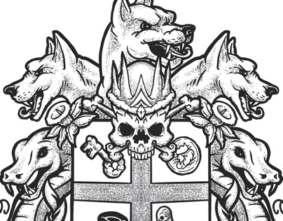 Greek god coat of arms project 2019