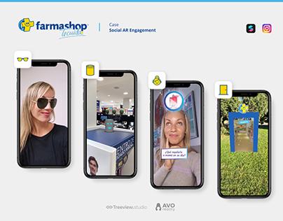 Farmashop - Social AR Engagement