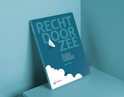 """CEGEKA Book design """"Recht door zee"""""""