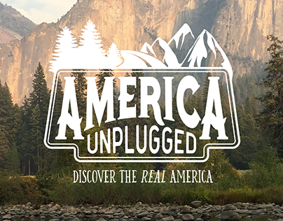 America Unplugged Logo Design