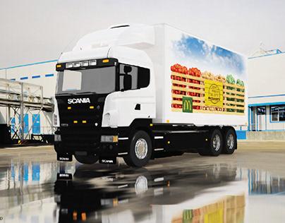 HAVI McDonalds Truck Branding