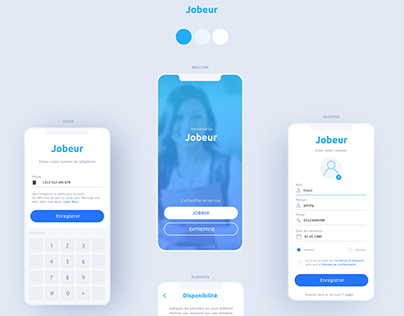 Jobeur Mobile Application