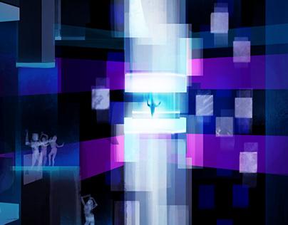 Runnin' Dance Floor Concept Art