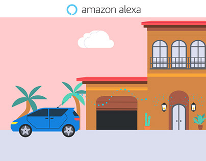Amazon Alexa-Auto Motion Graphic videos