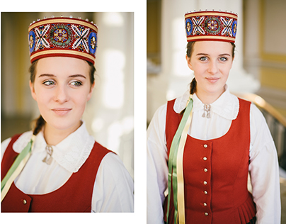 People. Portrait. Traditional Costume