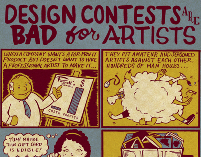 Design Contests are Bad for Artists