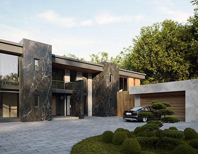Exterior visuals for a project in Cannock