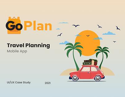 Travel Planning App - UI/UX