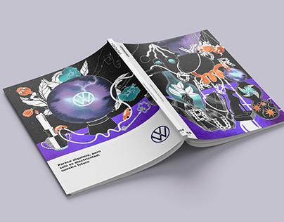 Yorokobu x Volkswagen Cover Design
