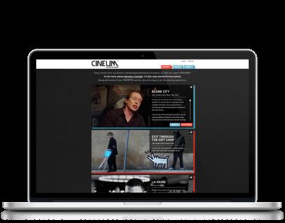 Cineum Online Network Branding & Web Design