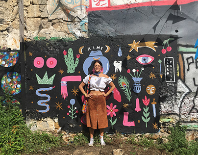 AIME Clorophilla x Réseau Friche Murale in Paris