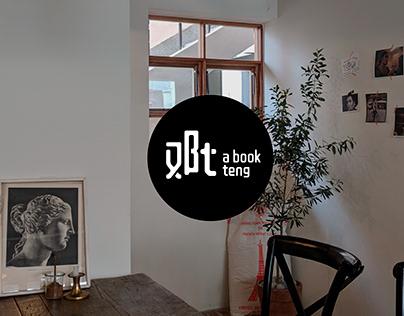 a book teng logo for social media