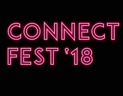 Festival Connect Fest'18 Graphic Image proposal
