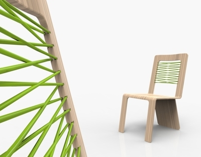 Wood-e Chair