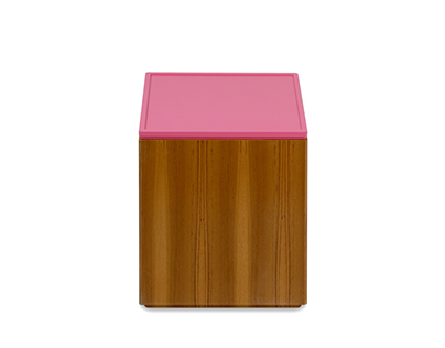 Polygon Storage - Square Side Table