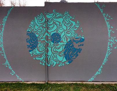 "Mural ""agua"" - junio 2017"