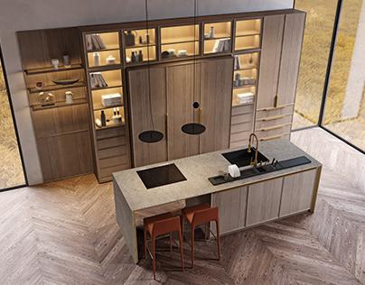 UMBRA kitchen / ELIO HOME