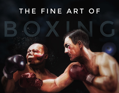 Digital Painting: The Fine Art of Boxing