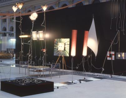 "Art-design installation in ""Seating yard"" 2002"