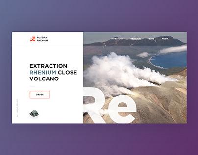 Rhenium Extraction Landing Page