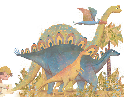 Imagination, Series of illustrations
