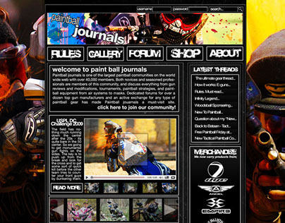 Paintball Journals with Callouts