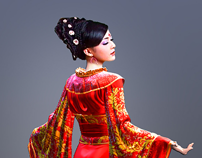 Geisha sculpting and visualization