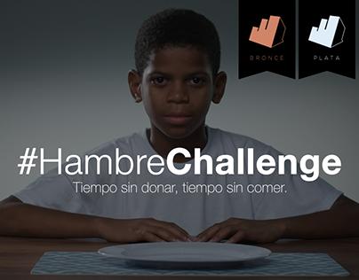 #HambreChallenge
