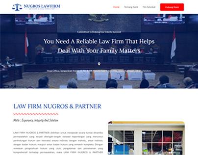 Website Nugros Lawfirm