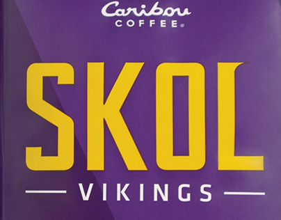 Caribou Coffee SKOL Vikings Blend