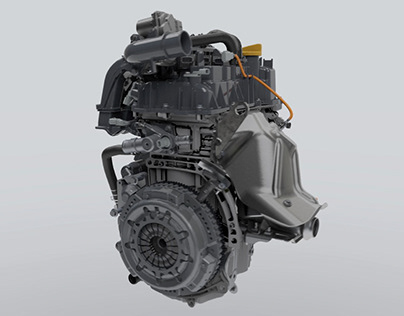 Renault Engines | 3D Animation
