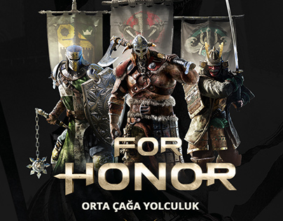 For Honor Landing Page