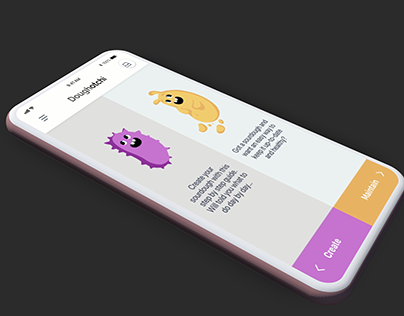 UI/UX Prototype - Doughotchi App