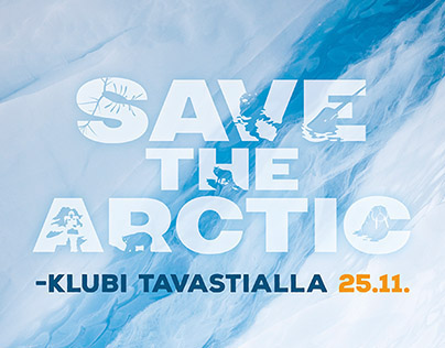 Save the Arctic club ads