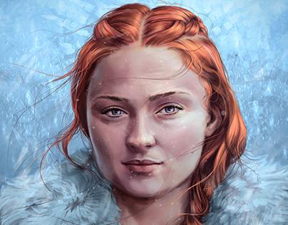 Sansa Stark of Winterfell – Game of Thrones Fan-Art