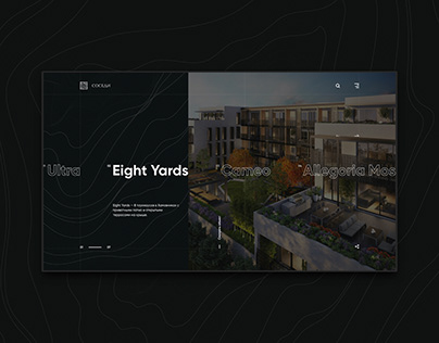 Real Estate Agency - Website design