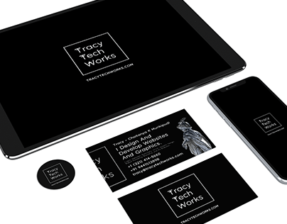 Tracy Tech Works - Logo and Stationery
