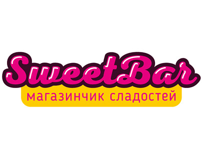 SweetBar - candy shop logo