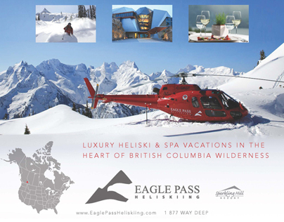 Eagle Pass Heliskiing Ad
