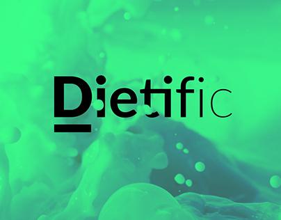 Dietific logo + brand
