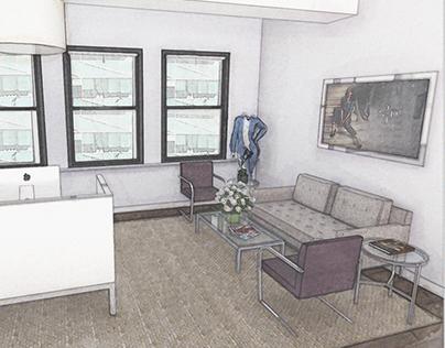 NYDJ Office Lobby