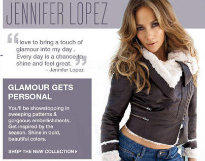 Jennifer Lopez - Brand Marketing (Oct. '12)