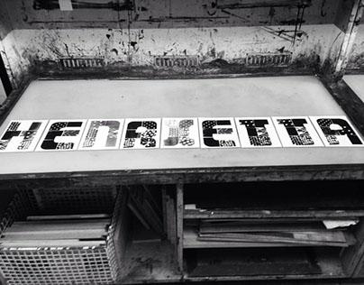 Dry workshop & Letterpressing