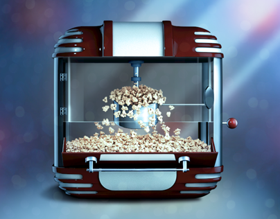 Popcorn machine iOS icon